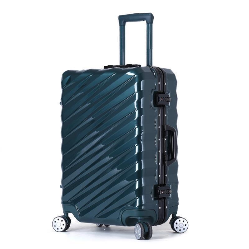 "Set Kids And Travel Bag Bavul Valiz Aluminum Alloy Frame Trolley Koffer Mala Viagem Carro Luggage Suitcase 20""22""24""26""28""inch"