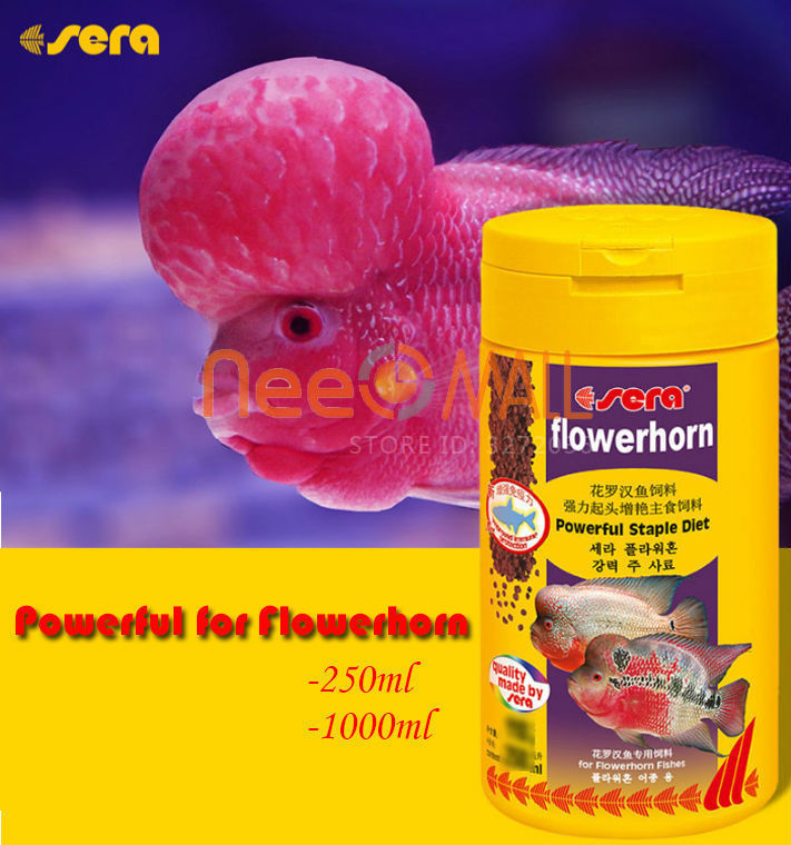SERA Flowerhorn Fish Food Powerful Staple Diet Flowerhorn Granules