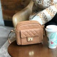 Горячая бренд Малый сумки на плечо для женщин 2019 курьерские Сумки Женская кожаная сумка кошелек и женский сумка мешок через плечо