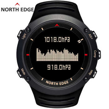 NORTH EDGE Men's sport Digital watch Hours Running Swimming sports watches Altimeter Barometer Compass Thermometer Weather men - DISCOUNT ITEM  50% OFF All Category
