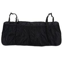 цена на Black Extended Version of the Back Pocket Storage Bag Car Seat Back Hanging Bag Multi-function Sundries Bag Seat Storage Bag -1