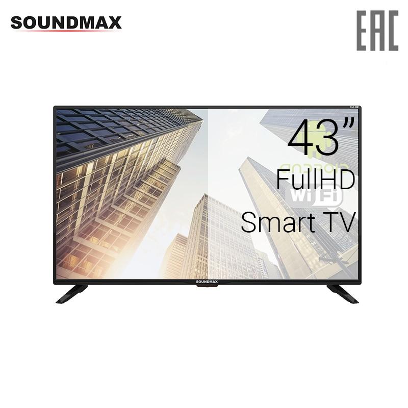 TV 43 Soundmax SM-LED43M01S FullHD SmartTV 4049inchTV dvb dvb-t dvb-t2 digital tv 43 telefunken tf led43s81t2s fullhd smarttv 4049inchtv