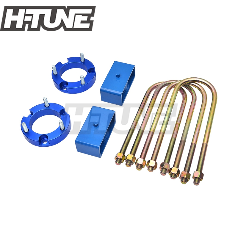 H TUNE 25mm Front Strut Spacer 51mm Rear Suspension Block Lift Kit 4WD For Ranger T6