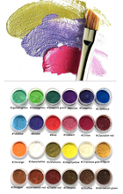 54Colors Nail Polish pearl pigment Cosmetic Mica Pearl Pigment Powder  Pearlescent pigment,pearl luster pigment,Mica