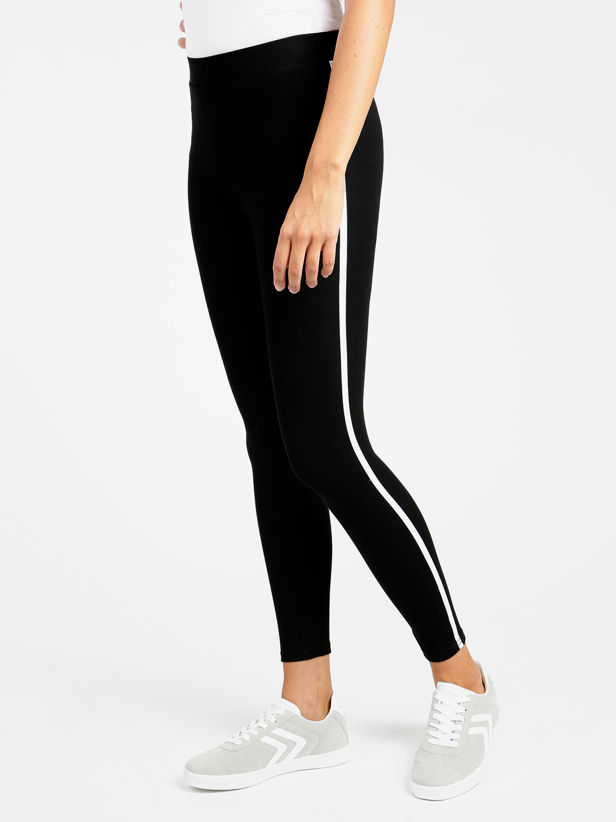 Leggings With Line Cotton