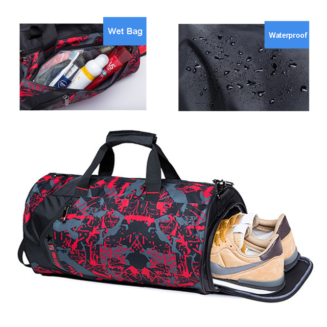 Shoe Compartment Sport Bag