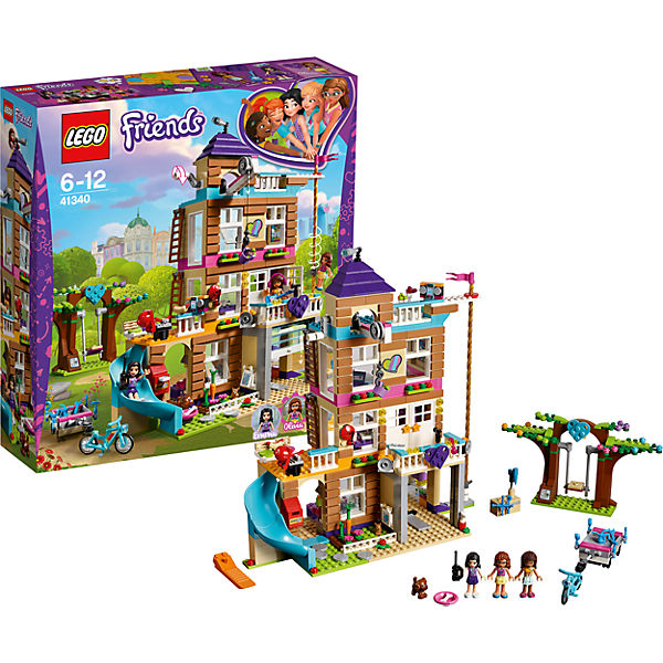 Constructor LEGO Friends 41340 Friendship House Toys Blocks 7221479 girls bela 10547 friends heartlake grand hotel andrea olivia stephanie building blocks bricks toy children gifts friends 41101