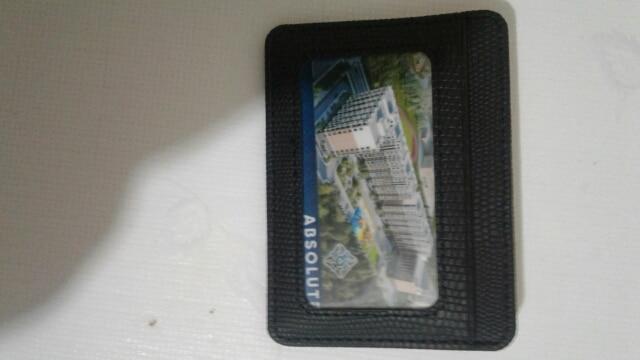 TRASSORY Kleine Mini Reizen Hagedis Patroon Lederen Bank Business Id-kaarthouder Portemonnee Case Mannen Vrouwen Met Id-venster photo review