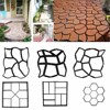 Garden Path Maker Mold Walk Pavement Concrete Mould Diy Manually Paving Cement Brick Stone Road Concrete
