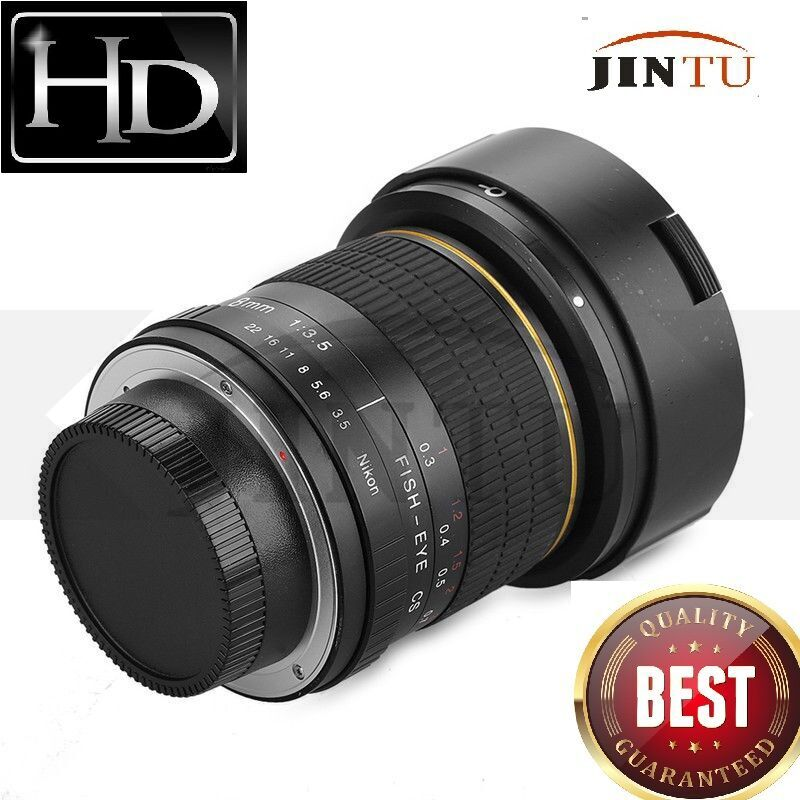 JINTU 8mm f 3 5 Wide Angel Super Fisheye Lens for Nikon DSLR Camera D7500 D7200
