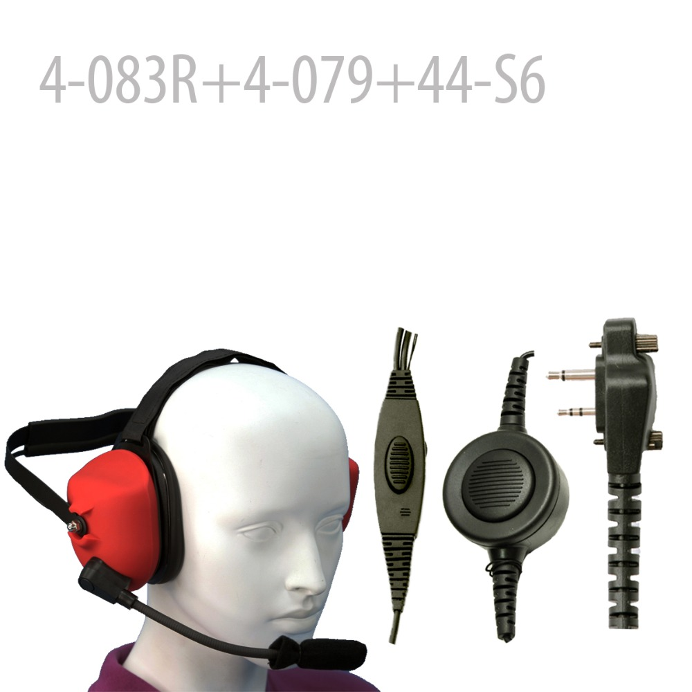 Heavy duty Noise Headset (R) +Mini Din Plug 44-S6 for F11 F21 F14 F14S F24 F24S F25 F3Gs F43G F43TR IC-F3000 F3001 F3002 IC3011Heavy duty Noise Headset (R) +Mini Din Plug 44-S6 for F11 F21 F14 F14S F24 F24S F25 F3Gs F43G F43TR IC-F3000 F3001 F3002 IC3011