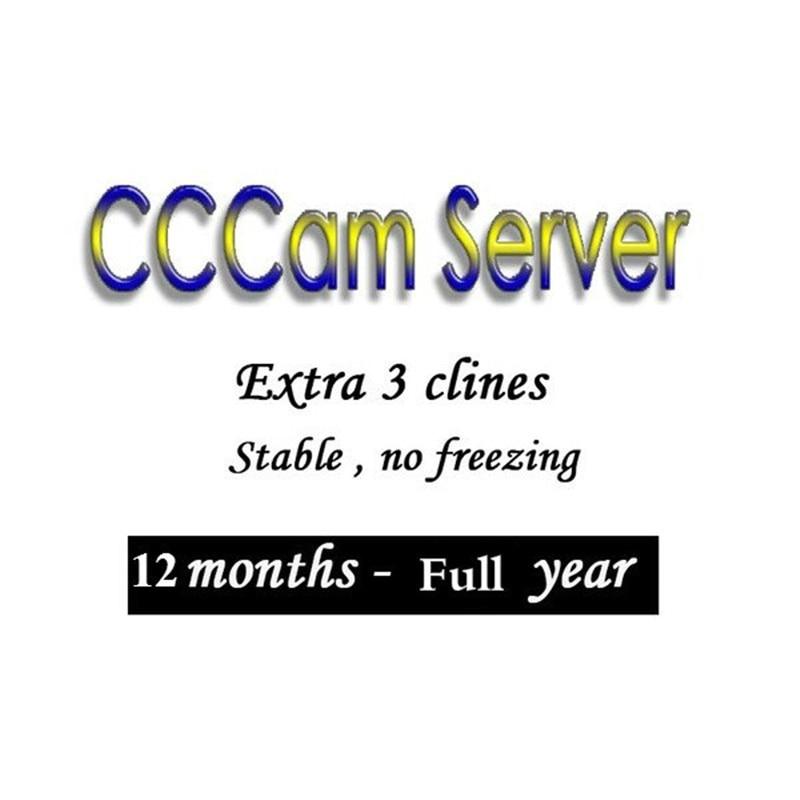 CCCAM Europe Cline 3 Lines 6 Lines For Spain Uk Germany Netherland Polsat For Satellte Receiver Decoder Ziggo