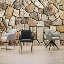HD slate stone wall background high-grade cloth manufacturers wholesale wallpaper mural photo