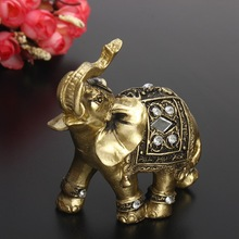 Indian Elephant Lucky Statue