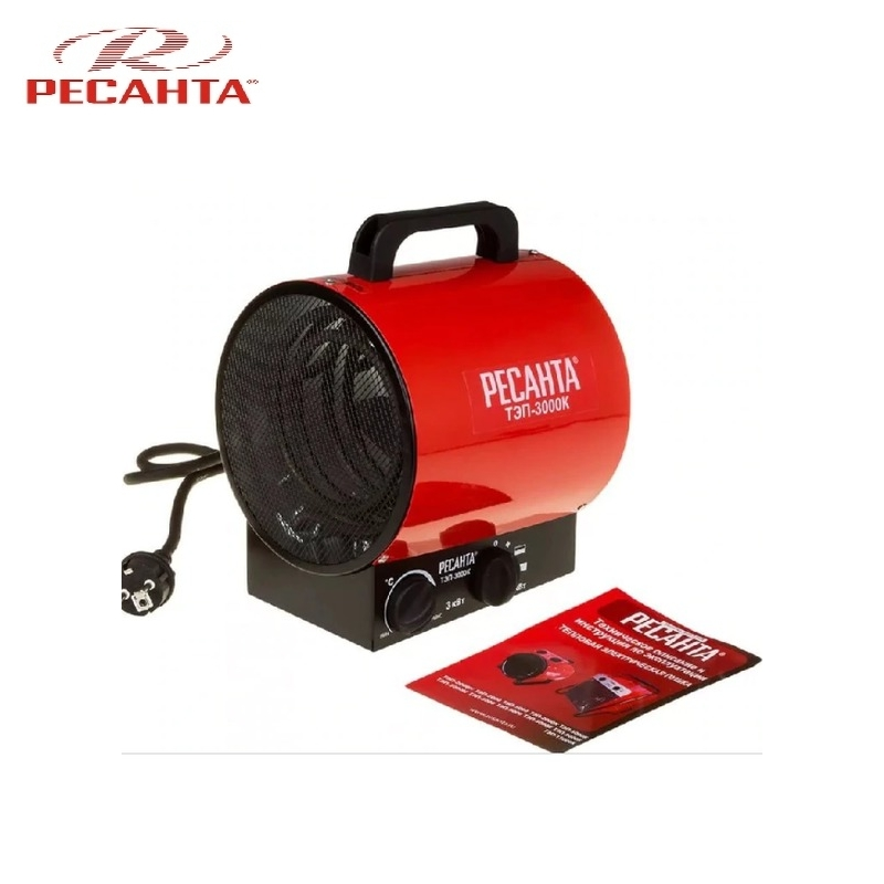 Electric heat gun TEP-3000K Hotplate Facility heater Area heater Space heater electric heat gun resanta tep 2000n compact