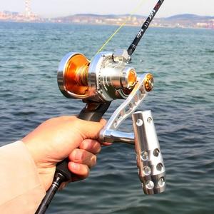 Image 5 - Madox moulinet en alliage de métal, avec alarme, pour pêche en mer, en haute mer, avec frein de 30kg Max, 11BB, Pe4 à 400m, pour Slow Jigging