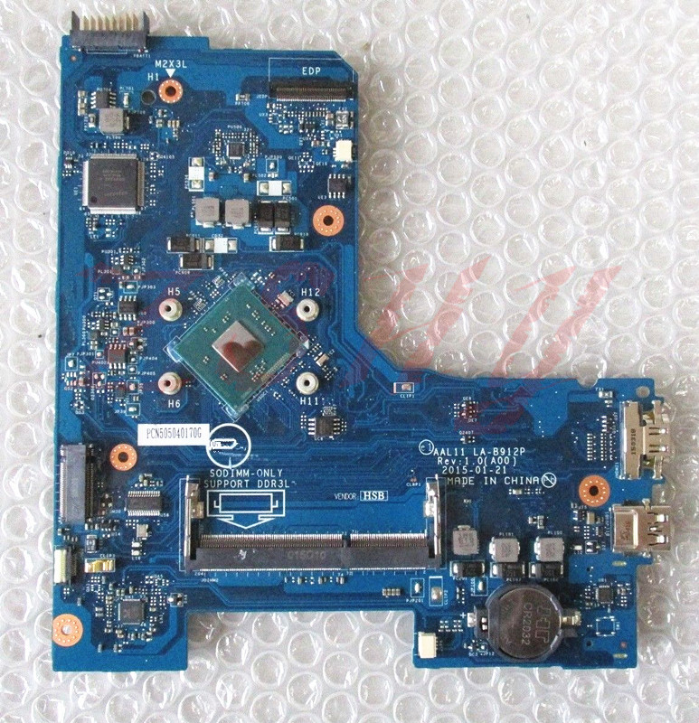 Здесь можно купить  For Dell Inspiron 5551 Series Laptop Motherboard LA-B912P CN-00V51V 00V51V WN3540 Processor DDR3L  Компьютер & сеть