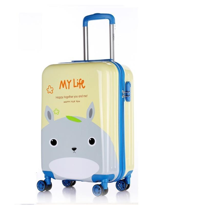 Carry On Enfant Bag Viagem Bavul Valise Voyageur Mala Koffer Children Maleta Trolley Carro Valiz Luggage Suitcase 181920inch