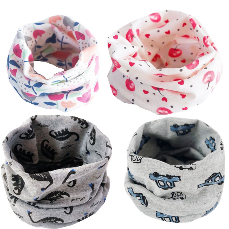 27c437a1ce new cartoon car berry bunny frog dinosaur cute baby o ring autumn winter scarf  boys girls kids neck wear collar neckerchief -in Scarves from Mother & Kids  ...