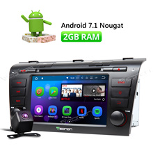 Camera & Eonon Android 7.1 7″ HD Car DVD Player Stereo GPS Navigation FM Radio for Mazda 3 2004 2005 2006 2007 2008 2009