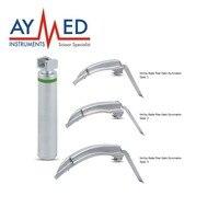 Маккой flexi Совет Integrated обычных сформулированы Laryngoscopes оптоволоконную подсветку хирургических инструментов ножницы