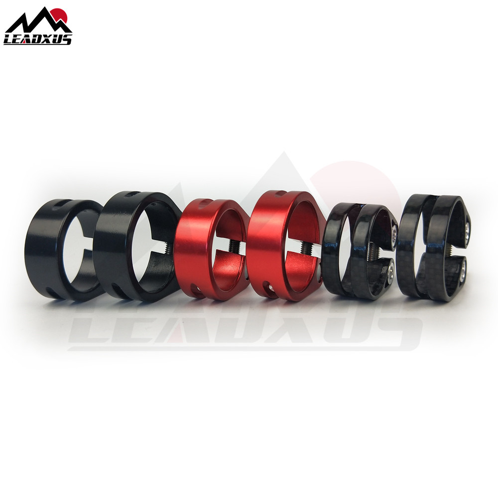 1pcs MTB Bike Bicycle Seatpost Clamp Fit for 30.8//31.6mm Seat post Cycling parts