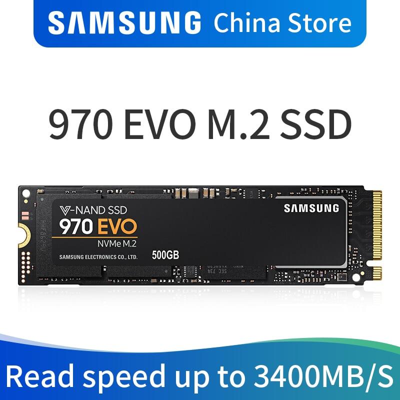 Samsung 970 EVO M.2 SSD 250 gb 500 gb 1 tb nvme m2 pcie Interne Solid State Disque Dur HDD lecteur pouces Pour Ordinateur Portable De Bureau MLC PC Disque