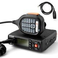 Baojie BJ 218 Mini Mobile Car Transceiver Dual Band VHF UHF FM Vericle Bus Car Cb Radio Communicator Walkie Talkie 10 km