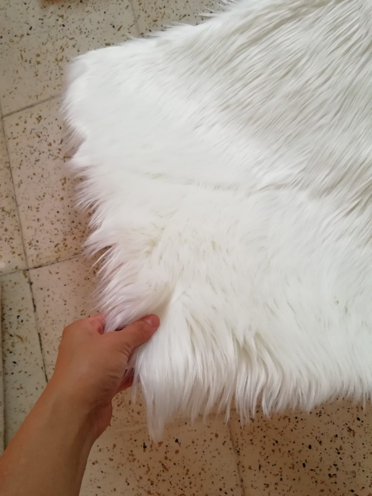 Tapete Artificial Fluffy Shaggy