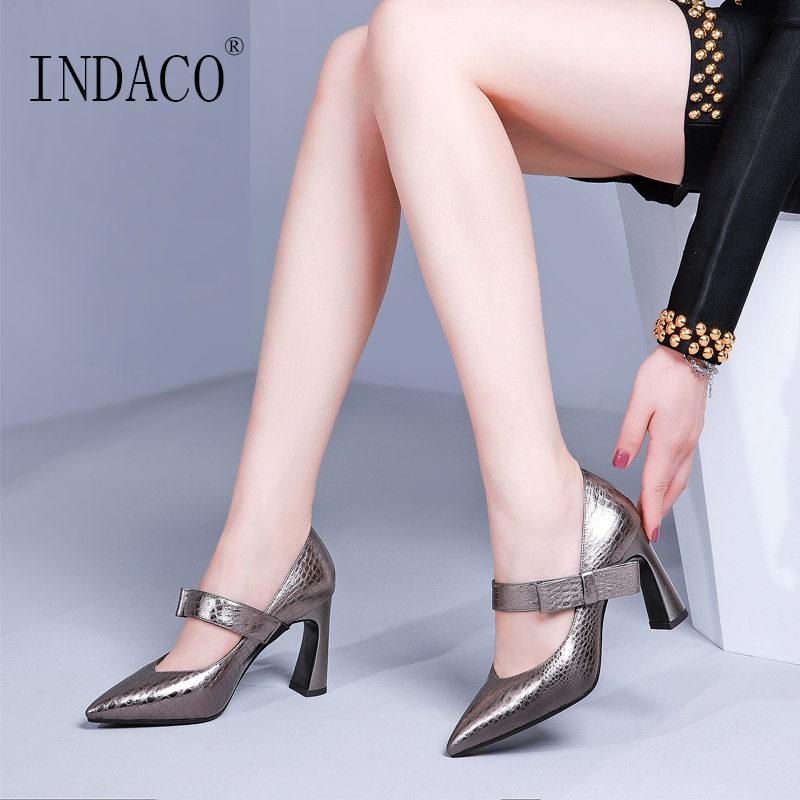2019 Shoes Woman Pumps Women Shoes High Heel Mary Jane 8 5cm