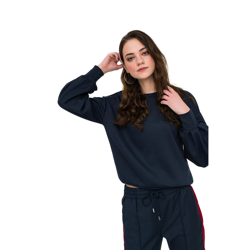 Sweaters jumper befree for female polyester sweater long sleeve women clothes apparel  turtleneck pullover 1811337471-47 dolman sleeve asymmetrical pullover sweater