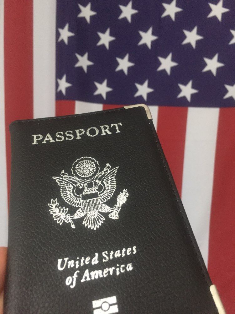 Travel Leather Covers for Passports USA America Passport Cover Women Girls US Passport Covers Passport Case Protector photo review