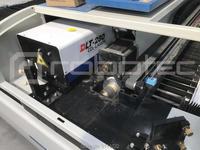 オートフォーカスレーザーヘッドcncレーザーカッター、co2 1390 280ワット金属レーザー切断機で支援ガス