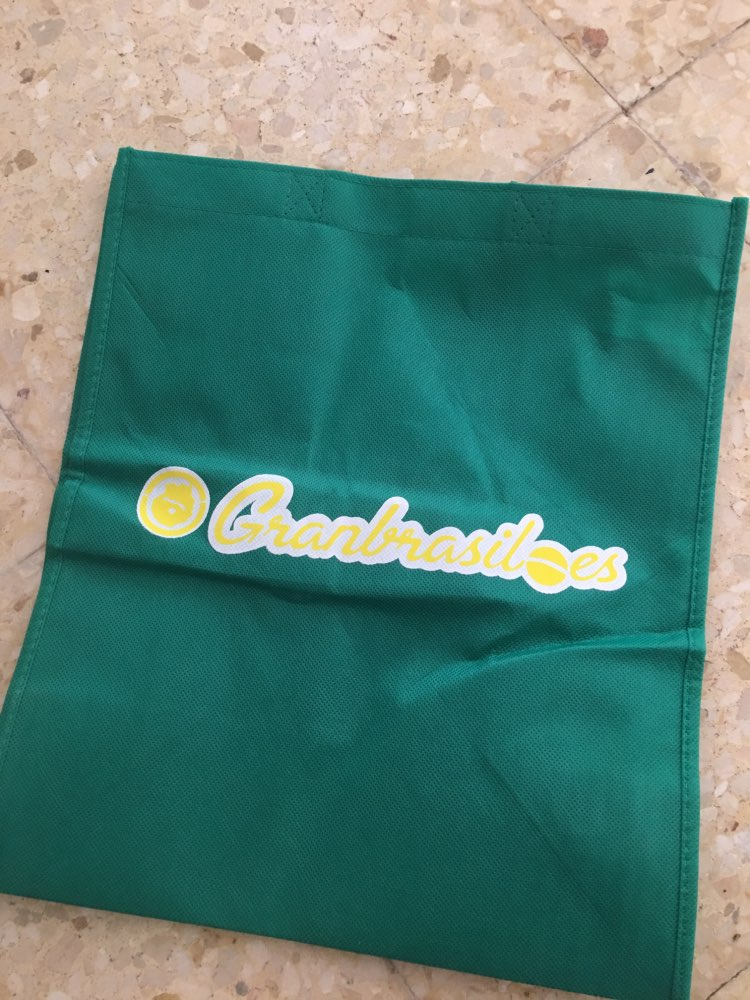 Wholesale Custom Personalized Promotional Reusable Cloth Shopping Tote Bags with Logo photo review