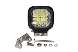 Image 4 - 48W LED światła robocze światła przeciwmgielne 12V IP67 Spot/Flood światła przeciwmgielne Off Road ciągnik pociąg autobus łódź reflektor ATV SUV akcesoria samochodowe