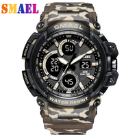 2018 Mens Watches Top Brand Luxury Digital watch G Style Military Sport Shock Watches Men LED Quartz Digital Watch reloj hombre