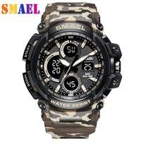 2019 Mens Watches Top Brand Luxury Digital watch G Style Military Sport Shock Watches Men LED Quartz Digital Watch reloj hombre
