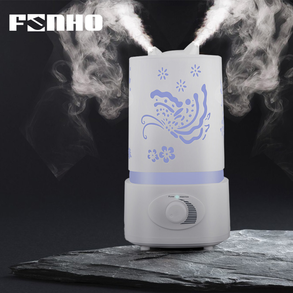 FUNHO 1500ml Air Humidifier Essential Oil Aroma Difusor 7 Color Change LED Lamp Humificador Aromaterapia Para Casa HDDH funho aroma diffuser mini air humidifier oil humificador aromaterapia para casa 5 color selectable for home office car 078