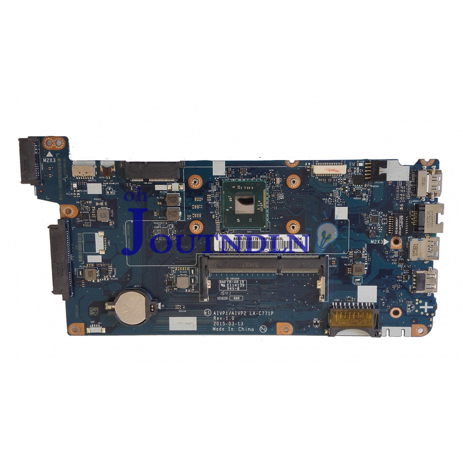 JOUTNDLN FOR Lenovo ideapad 100 15IBY Laptop Motherboard 5B20J30714 W/ N2840 CPU AIVP1 AIVP2 LA C771P REV:1.0-in Laptop Motherboard from Computer & Office    1