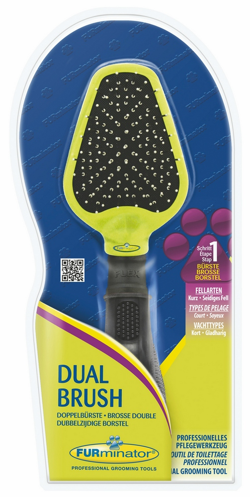 The tool against a molt of FURminator brush bilateral Dual Brush teeth of 12 mm.  Dog Accessories waterproof soft electric toothbrush with elastic nozzle brush heads replacement teeth whitener cleaning oral hygiene teeth brush