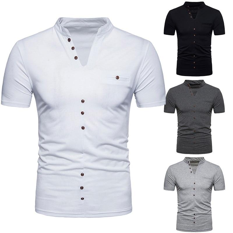 Men's Fashion Short Sleeve T-Shirt Summer T-shirts Mens T Shirt Men's Cotton T-shirt Casual Shirt Pullover Sweatshirt