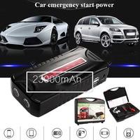 800A 23000 mah Многофункциональный Аварийный автомобильный пусковой стартер портативный Банк питания Автомобильное зарядное устройство аккуму