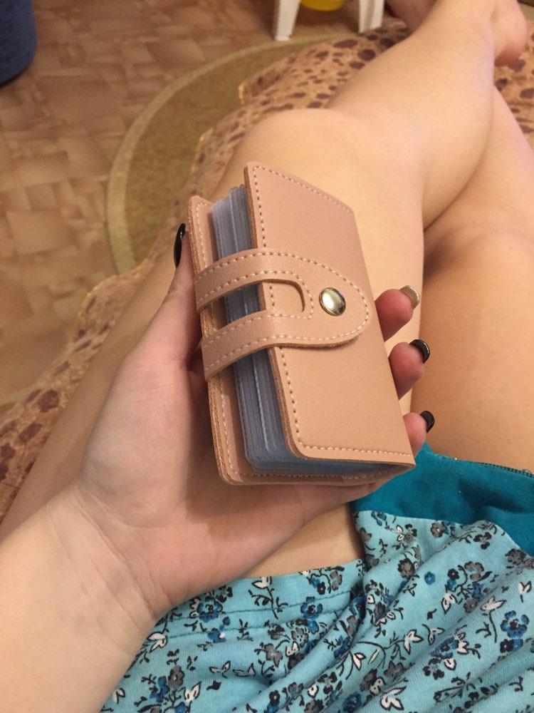 APP BLOG 24 Card Slots Women Men ID Credit Business Cards Holder Wallet Passport Cover Card Bag Case Femme Carteira Mujer Purse photo review