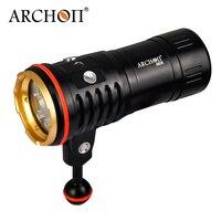 ARCHON DM20 Aluminum Waterproof U2 5200 LM 4 Color Light Tint Diving LED Flashlight Torch+18650 Battery