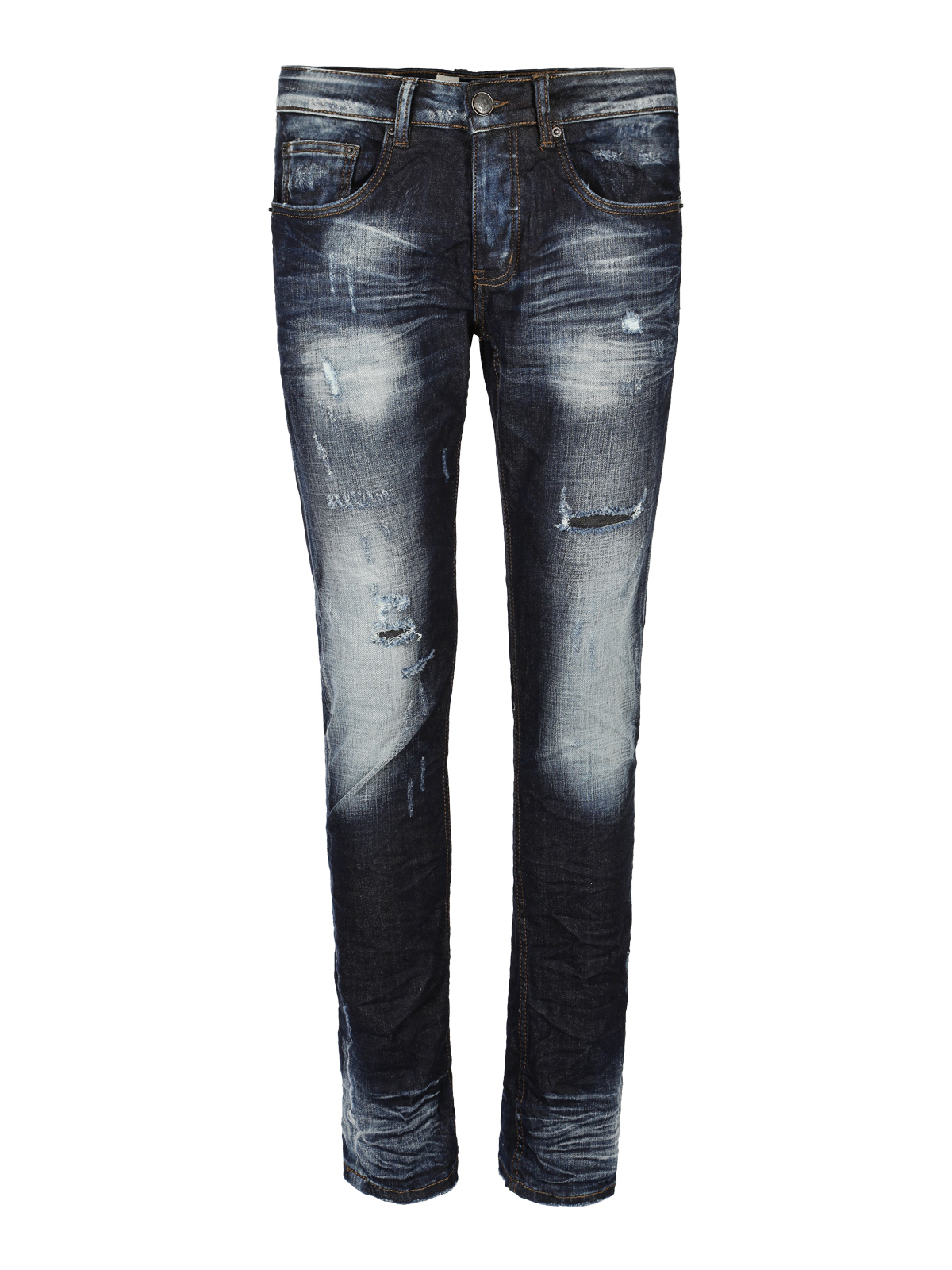Stretch Jeans With Tear