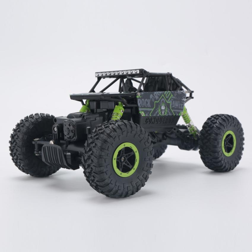 HB-P1803 2.4GHz 4CH 1:18 Scale RC Car Rock Crawler 4WD Off-road Racing Truck Toy IUNEED TOY Store rc car 2 4ghz rock crawler rally car 4wd truck 1 16 scale off road race vehicle buggy electronic rc model toy 9504 yellow