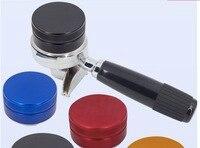 53mm distribuidor de café/tamper de café/ferramenta de café profissional/aço inoxidável alta qualidade distribuidor de café ferramenta perfeita