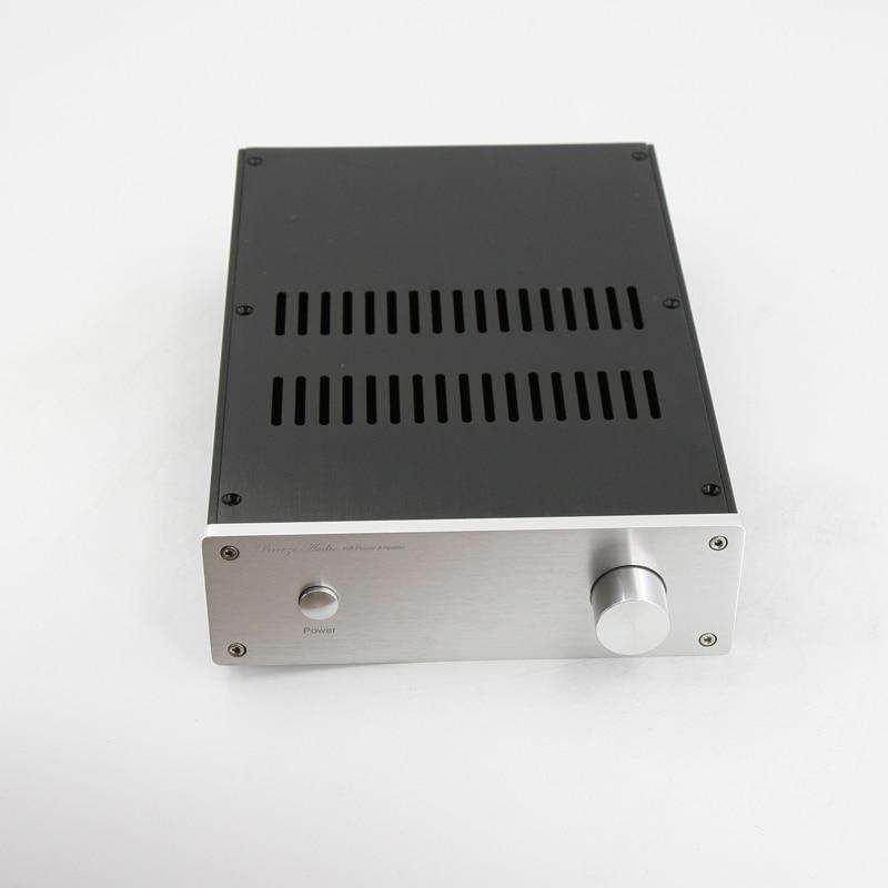 BZ2207E Aluminum Chassis Audio Amplifier Case HiFi Power Amp Enclosure Preamplifier Housing DIY Box 215MM*70MM*308MM футболка wearcraft premium slim fit printio насир джонс nas