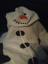 95aba4606 Online Shop Mingkids Jumpsuits Sleepsuit Pajamas Snowman Costume ...