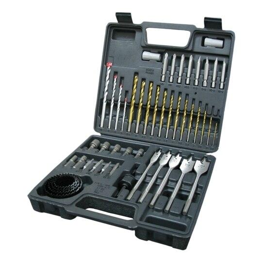 цена на Set drills combo Brigadier 39320 (cutting bits, bits drill bits, circular saw blade)